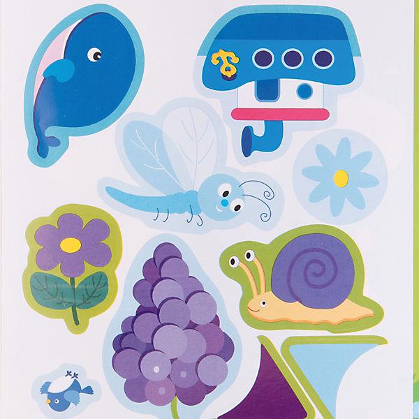 Цвет, Развивающие наклейки для малышей