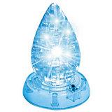 Кристаллический пазл-cветильник 3D Капля L