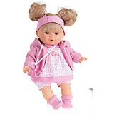Кукла Кристи в розовом, плачущая, 30 см, Munecas Antonio Juan