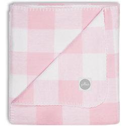 Байковый плед 100х150 см, Jollein, Pink check