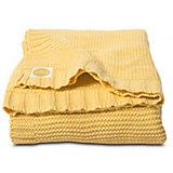 Вязаный плед Chunky Knit 100х150 см, Jollein, Yellow