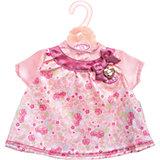 Платье для куклы, розовое, Baby Annabell