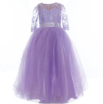 Платье нарядное для девочки Престиж - фиолетовый