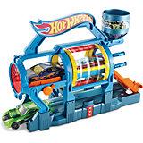 Трансформирующийся игровой набор Turbo Jet Car Wash, Hot Wheels