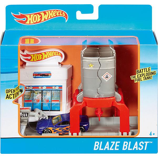 Трансформирующийся игровой набор Blaze Blast, Hot Wheels