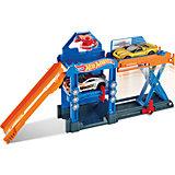 Трансформирующийся игровой набор Robo-Lift Speed Shop, Hot Wheels