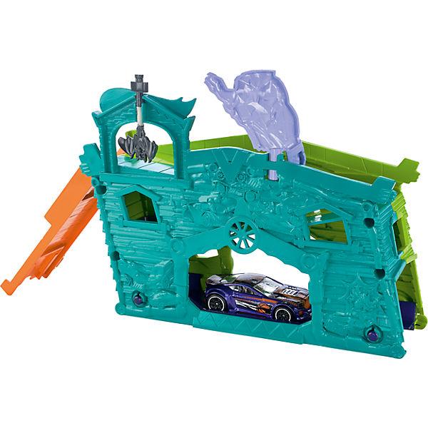 Трансформирующийся игровой набор Ghost Garage, Hot Wheels