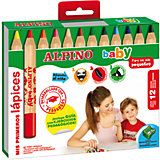 Цветные карандаши  baby, 12 цв. + точилка