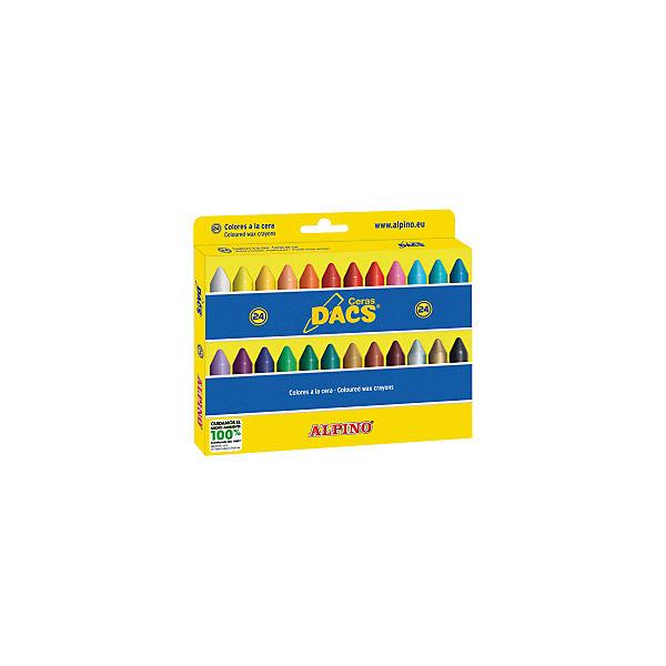 Восковые карандаши Ceras DACS, 24 цв.