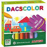 Восковые карандаши DACSCOLOR, 8 цв.