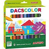 Восковые карандаши DACSCOLOR, 24 цв.