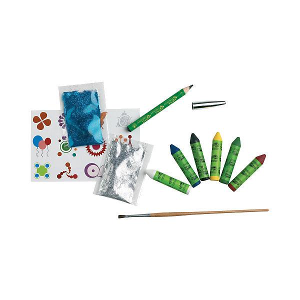 """Детский аквагрим """"Ужастики"""" (макияжные карандаши), 6*5 гр, 6 цв.+комплект"""