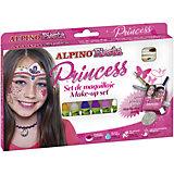 """Детский аквагрим """"Принцесса"""" (макияжные карандаши), 6*5 гр, 6 цв.+комплект"""