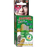 """Детский аквагрим """"Glitter Stick"""" (макияжные карандаши с блестками), 2*4 гр, 2 цв. (золотой/серебряный)"""