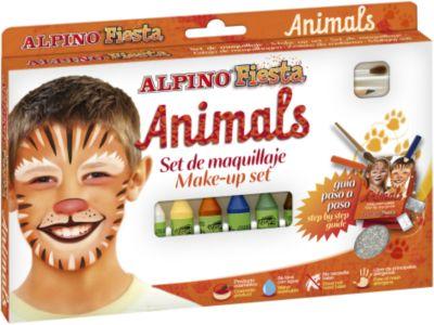 """Детский аквагрим """"Животные"""" (макияжные карандаши), 6*5 гр, 6 цв.+комплект"""