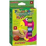 Восковые темперные карандаши PINTACOLOR в пластиковом корпусе, 6 цв.