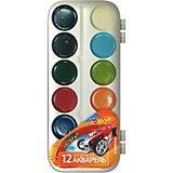 Акварельные медовые краски (12 цветов), Hot Wheels