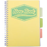 "Желтая тетрадь А5 ""Neon book"" 120 листов"