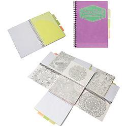 """Фиолетовая тетрадь А5 """"Neon book"""" 120 листов"""