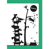 """Зеленая тетрадь А5 """"Flex book"""" 80 листов"""