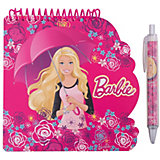 """Блокнот А6 """"Barbie"""" 40 листов + ручка"""