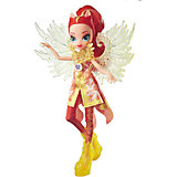 """Кукла Эквестрия Герлз """"Легенды вечнозеленого леса"""" Crystal Wings - Сансет Шиммер"""
