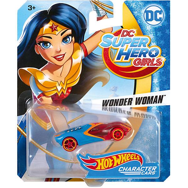 Машинка DCSHG Чудо-женщина, Hot Wheels