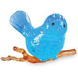 "Кристаллический пазл 3D ""Голубая птичка"", Crystal Puzzle"