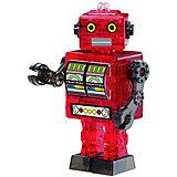 """Кристаллический пазл 3D """"Красный робот"""", Crystal Puzzle"""