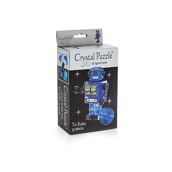 "Кристаллический пазл 3D ""Синий робот"", Crystal Puzzle"