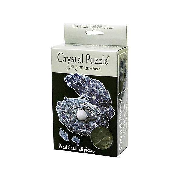 """Кристаллический пазл 3D """"Черная жемчужина"""", Crystal Puzzle"""