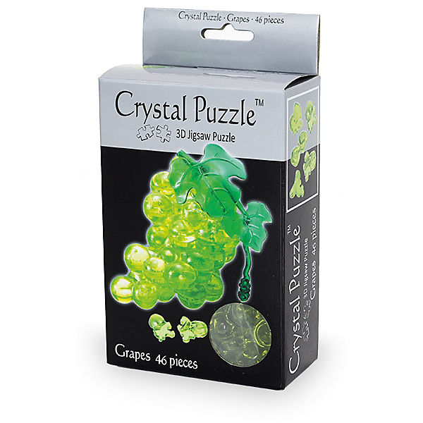 """Кристаллический пазл 3D """"Зеленнный виноград"""", Crystal Puzzle"""