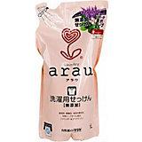 """Средство для стирки """"Arau"""" на мыльной основе для мам и детей, 1000 мл., saraya"""