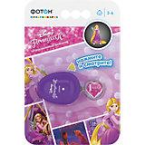 """Мультфонарик-брелок """"Принцессы"""", фиолетовый, Disney"""