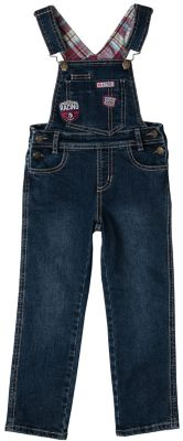 Полукомбинезон джинсовый для мальчика PlayToday - синий