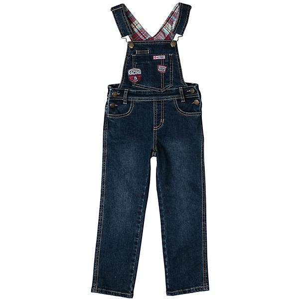 Полукомбинезон джинсовый для мальчика PlayToday