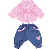 Одежда для куклы 42 см, кофточка и штанишки, Mary Poppins