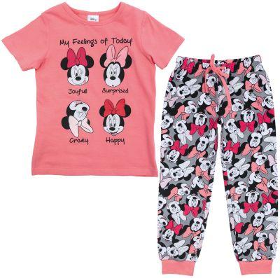 Пижама для девочки PlayToday - разноцветный
