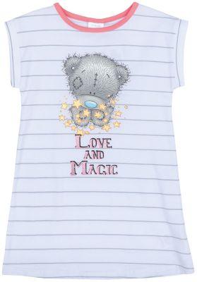 Сорочка для девочки PlayToday - серый