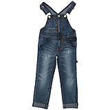 Комбинезон джинсовый для девочки PlayToday