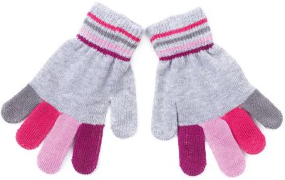 Перчатки для девочки PlayToday - разноцветный