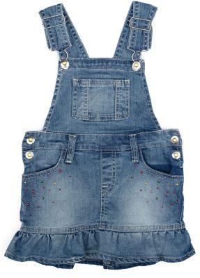 Сарафан джинсовый для девочки PlayToday - голубой