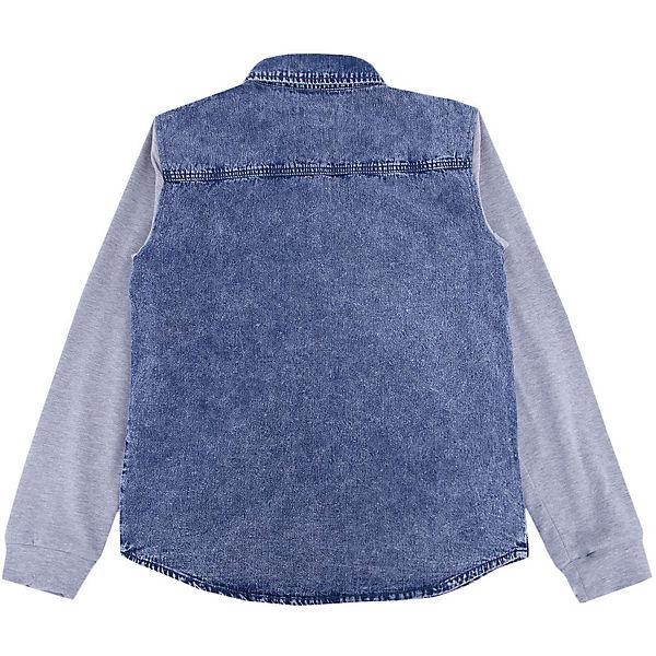 Рубашка джинсовая для мальчика S'cool