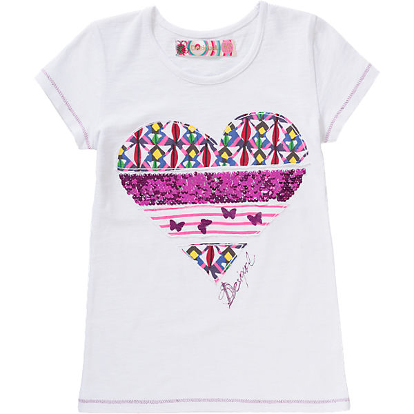 t shirt mit wendepailletten f r m dchen desigual mytoys. Black Bedroom Furniture Sets. Home Design Ideas