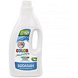 Средство для стирки детских изделий из цветных тканей и для чувств кожи жидкое 1,5л, Sodasan