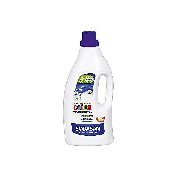Средство для стирки изделий из цветных тканей жидкое 1,5л, Sodasan