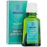 Масло для волос восстановление секущихся концов и уход за кожей головы 50 мл, Weleda