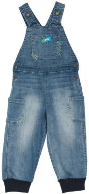 Полукомбинезон джинсовый для мальчика PlayToday - голубой