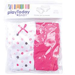 Трусы, 2 шт для девочки PlayToday
