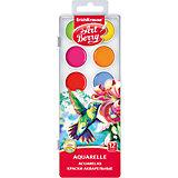 Краски акварельные ArtBerry, 12 цветов с УФ защитой яркости